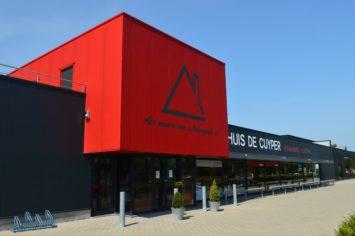 Backx Architecten - Winkelruimte, magazijn en bedrijfswoning HDC te duffel