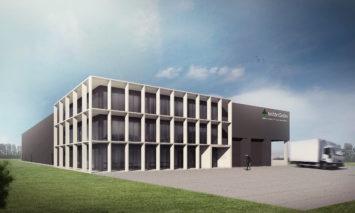 Backx Architecten - Magazijn en kantoren toeleveringsbedrijf tuinbouwsector I te Sint-Katelijne-Waver