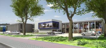 Backx Architecten - Toonzaal en magazijnen V te Putte