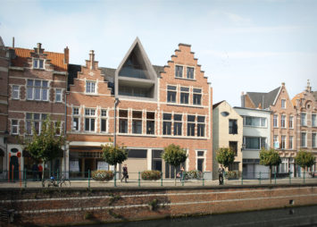 Backx Architecten - Bouwen van 3 appartementen met behoud van voorgevel IS te Lier